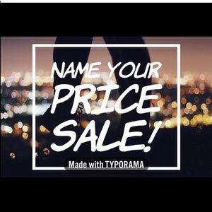 ⚠️⚠️⚠️Name YOUR PRICE⚠️⚠️⚠️